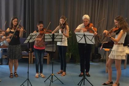 Ecole Intercommunale des Arts : ensembles instrumentaus et MAO